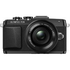 Цифровая системная фотокамера OLYMPUS E-PL7 Kit (14-42) Black/Black